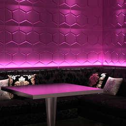 Bares y Clubs de estilo  por Twinx Interiors