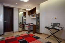 Sons bedroom: modern Bedroom by Cubism