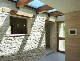 Stefano Zaghini Architetto:  tarz Koridor ve Hol