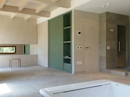 Stefano Zaghini Architetto: kırsal tarz tarz Spa