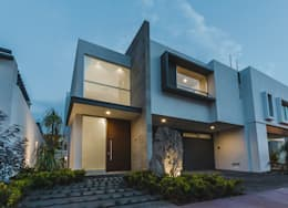 Rioja 103: Casas de estilo moderno por 2M Arquitectura