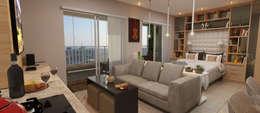 modern Bedroom by  Sotto Mayor Arquitetura e Urbanismo