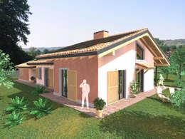 Casas de estilo clásico por DBIOSTUDIO
