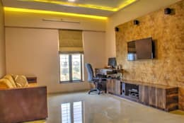 Living Room: modern Living room by Olive Roof