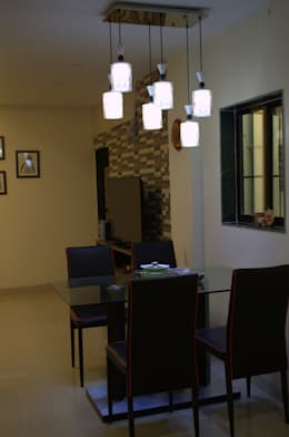 Dining Area: modern Dining room by Olive Roof