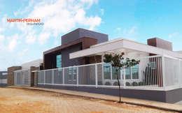 Casas de estilo moderno por Martin.Perham  Arquitetura