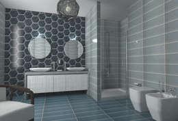 Baños de estilo clásico por Acquario Due