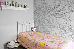 eclectic Nursery/kid's room by Pixers