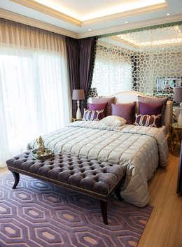 Projekty,  Sypialnia zaprojektowane przez Gracious Luxury Interiors