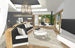 living space:  Hotels by Kirsty Badenhorst Interiors