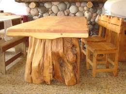 Cocina de estilo  por Enrique Ramirez Muebles artesanales