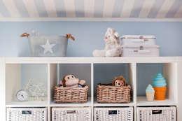Decorar um quarto de beb com m veis ikea - Cestos para kallax ...