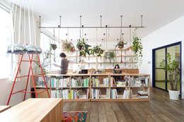 Office : こよりが手掛けた書斎です。