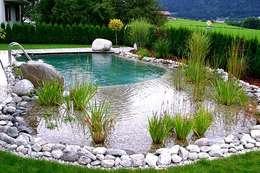 Piletas de estilo rural por Bio Göl Havuz (Biyolojik Gölet ve Havuz Yapısalları)
