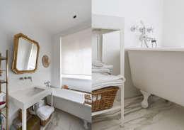 Apartment - Via Crespi - Milano: Bagno in stile in stile Moderno di Fabio Azzolina Architetto