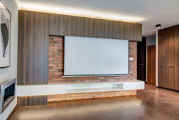 Salas de estilo minimalista por Perfect Space