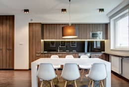 minimalistic Dining room by Perfect Space