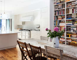 Brooklyn Brownstone: modern Kitchen by Lorraine Bonaventura Architect