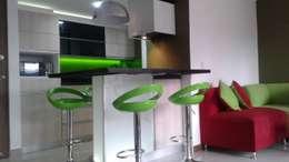 Cozinhas modernas por Modulo