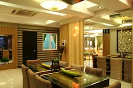 Comedores de estilo tropical por Design Spirits
