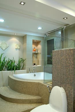 Baños de estilo topical por Design Spirits