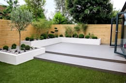 minimalistic Garden by Yorkshire Gardens