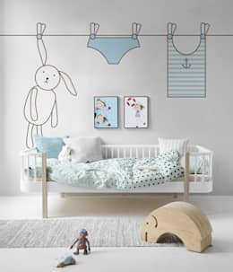 scandinavische Kinderkamer door Pixers