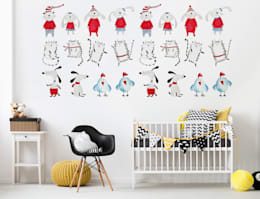 minimalistic Nursery/kid's room by Pixers