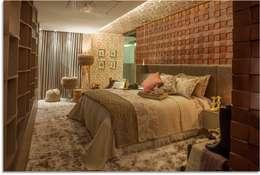 غرفة نوم تنفيذ Duailibe Arquitetura