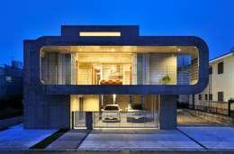浮かぶRing: 久友設計株式会社が手掛けた家です。