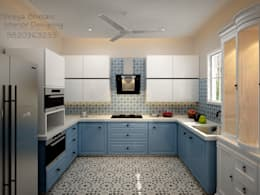Kitchen: eclectic Kitchen by Shreya Bhimani Designs