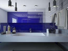 modern Bathroom by olivia Sciuto