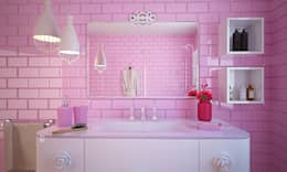 modern Bathroom تنفيذ olivia Sciuto
