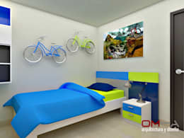 غرفة الاطفال تنفيذ om-a arquitectura y diseño