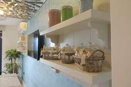 50GR Mimarlık – SERDİVAN VİLLALARI: asyatik tarz tarz Mutfak