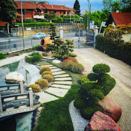 Jardines de estilo asiático por Azienda agricola Vivai Romeo