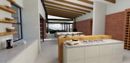 View from Kitchen:   by ENDesigns Architectural Studio