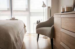 Dormitorios de estilo moderno por Estibaliz Martín Interiorismo