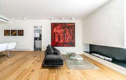 mediterrane Woonkamer door 08023 Architects