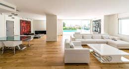 غرفة المعيشة تنفيذ 08023 Architects