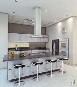 ห้องครัว by EL arquitectos