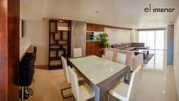 el interior: modern tarz Yemek Odası