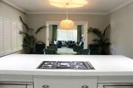 House F: classic Kitchen by Margaret Berichon Design