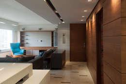 Projekty,  Salon zaprojektowane przez VODO Arquitectos