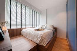 WATERCOLOURS: scandinavian Bedroom by Eightytwo Pte Ltd