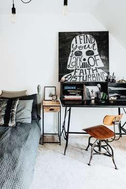 臥室 by Katie Malik Interiors