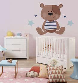 scandinavian Nursery/kid's room by Pixers