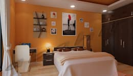 Residential Projects: modern Bedroom by Abahir Interiors