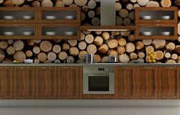 Projekty,  Kuchnia zaprojektowane przez Pixers