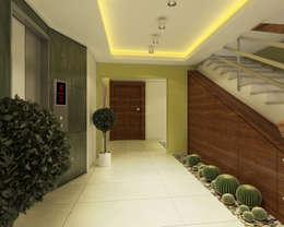 Corridor & hallway by Ofis 352 Mimarlık Hizmetleri
